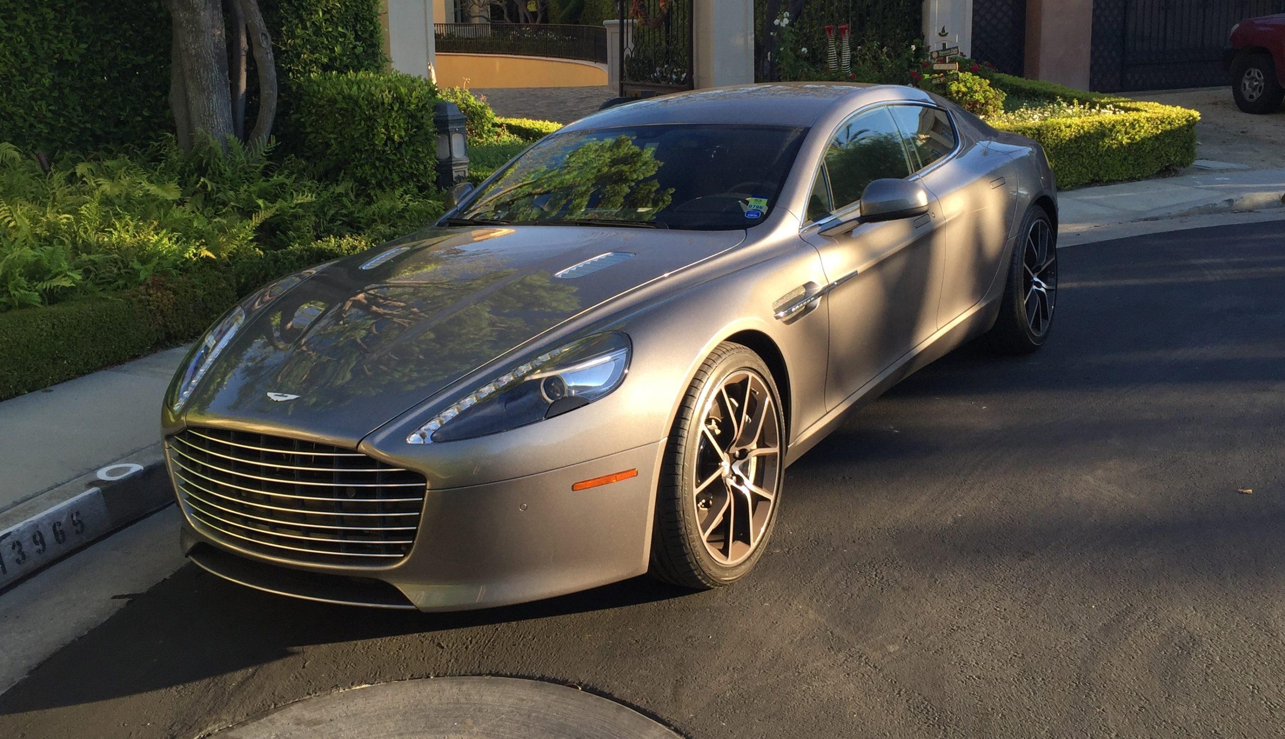 2018 Aston Martin Rapide 4 Dr California Usa De Louvois
